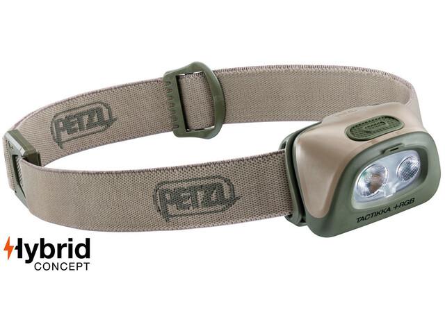 Petzl Tactikka+ RGB Stirnlampe desert